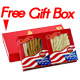 Premium Selected Gift Box Bundle: Ginseng Slice Medium 4 oz Box + Long Large 4 oz Box