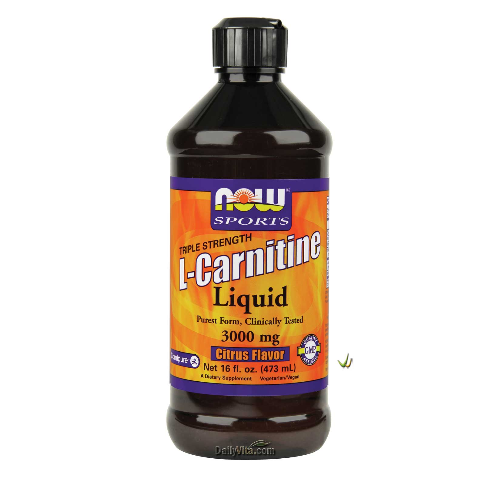 NOW® L-Carnitine Liquid 3000 mg - 16 oz