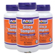 Skin,Hair,Nail Bundle: 3 Bottles of NOW® Silica Complex - Healthy Part of Hair, Skin, Nails 500 mg Vegetarian - 90 Tabs