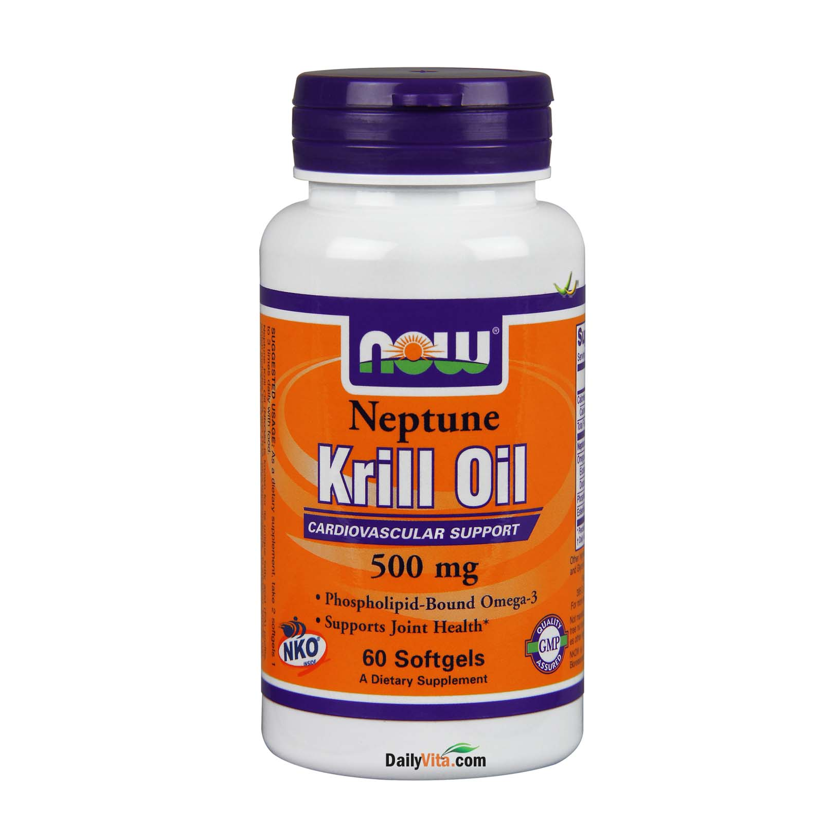 NOW® Neptune Krill Oil- 60 Softgels