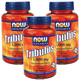 Special Bundle: 3 Bottles of NOW® Tribulus 1000 mg - 90 Tabs