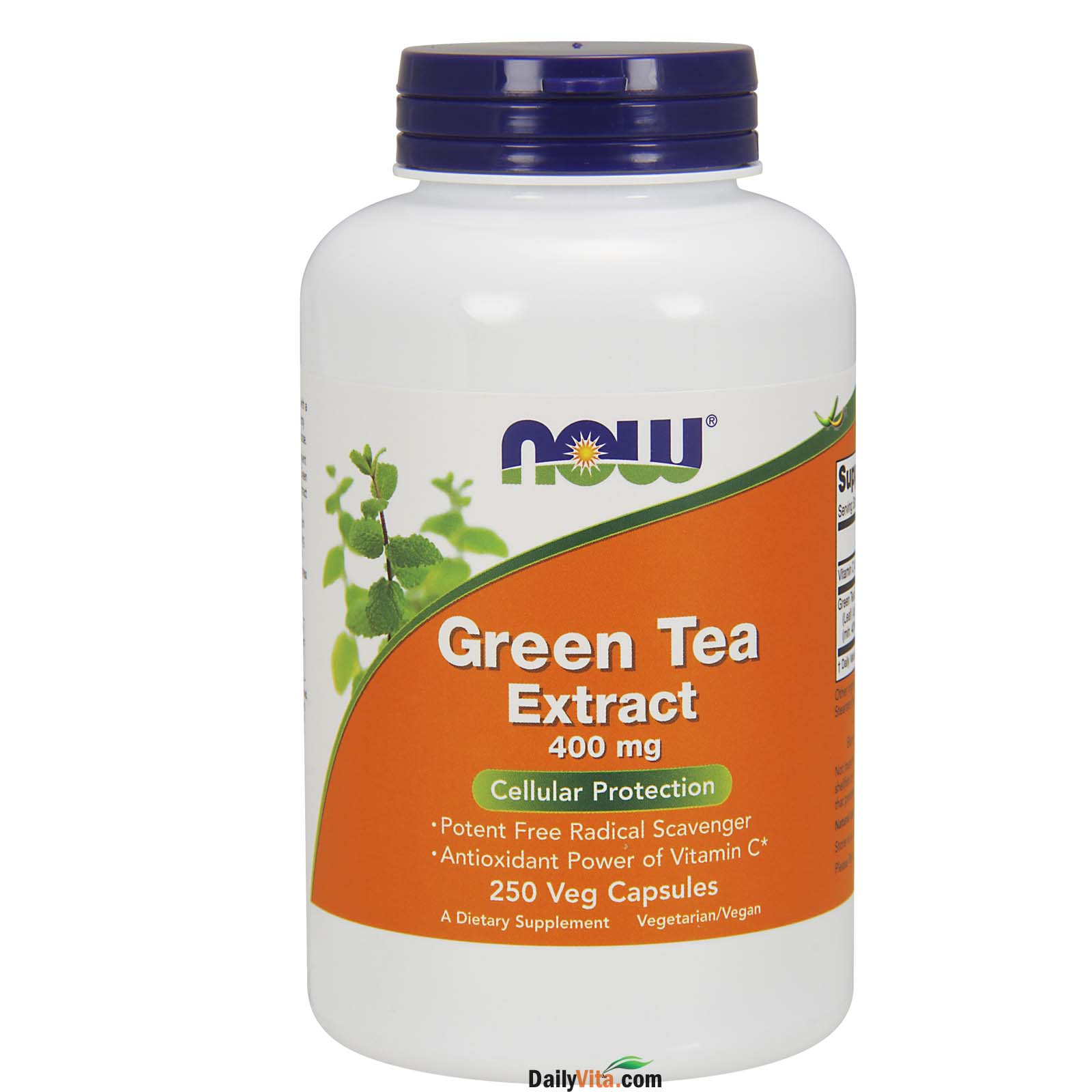 NOW® Green Tea Extract 400 mg - 250 Caps