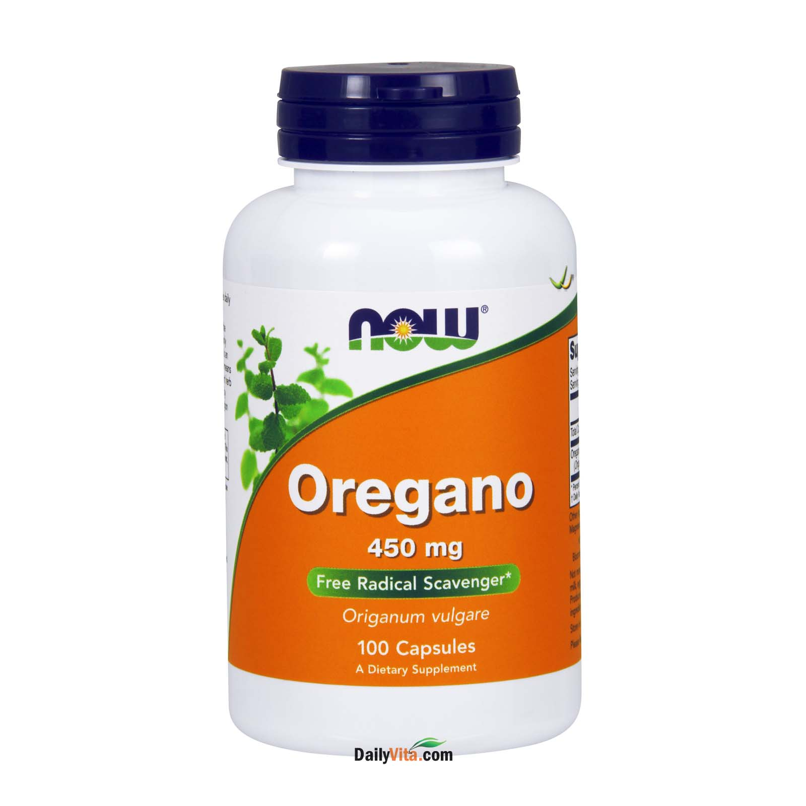 NOW® Oregano 450mg - 100 Capsules