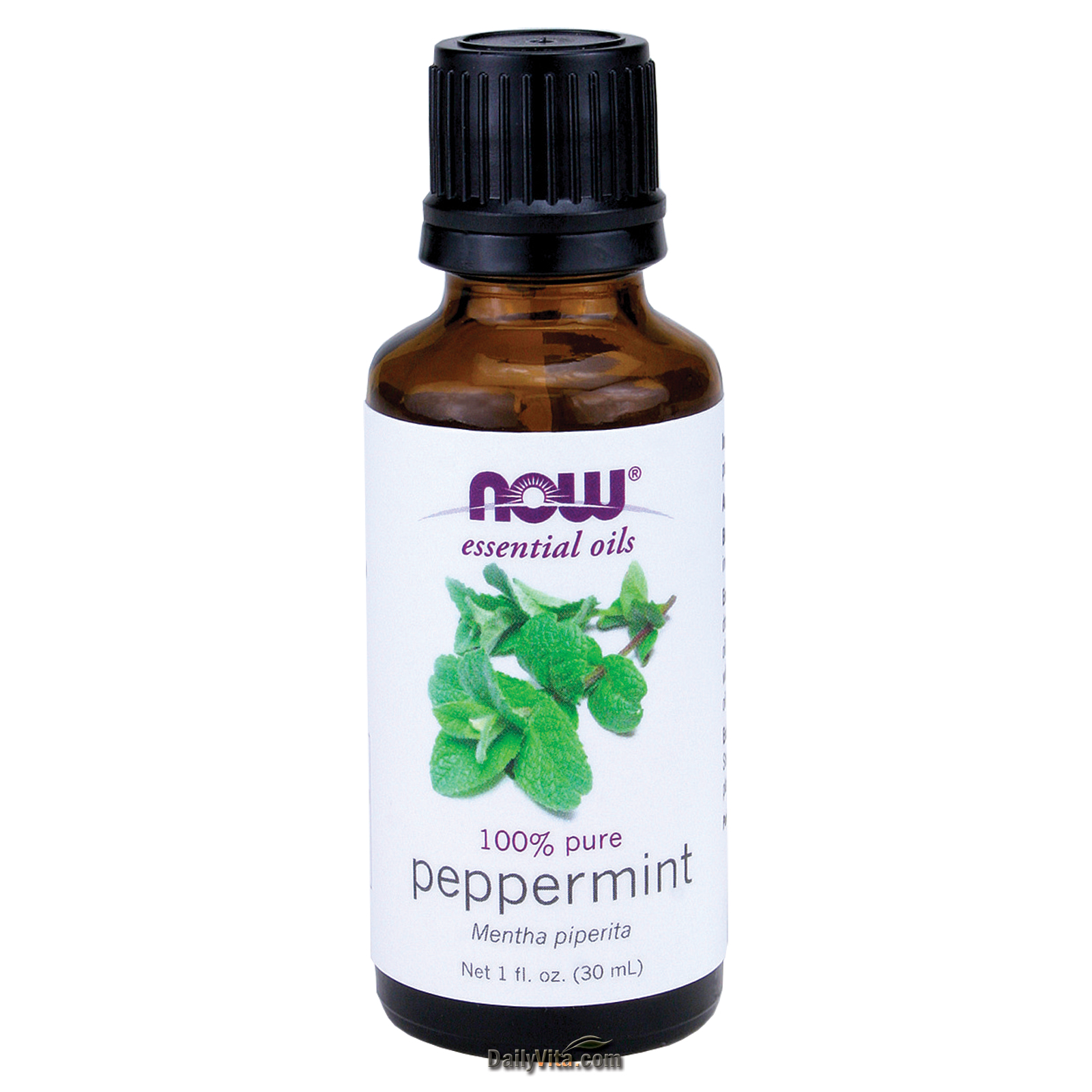NOW® 100% Peppermint Oil - 1 oz