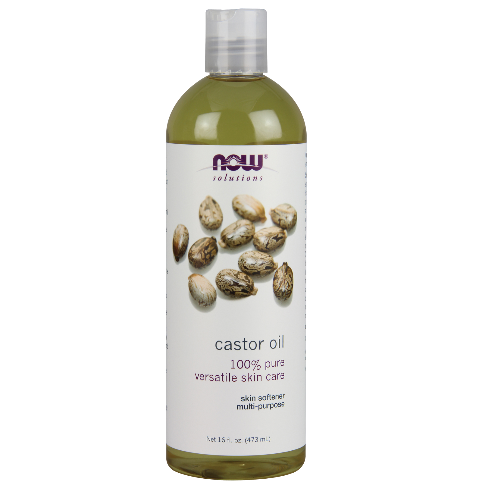 NOW® 100% Pure Castor Oil - 16 oz.