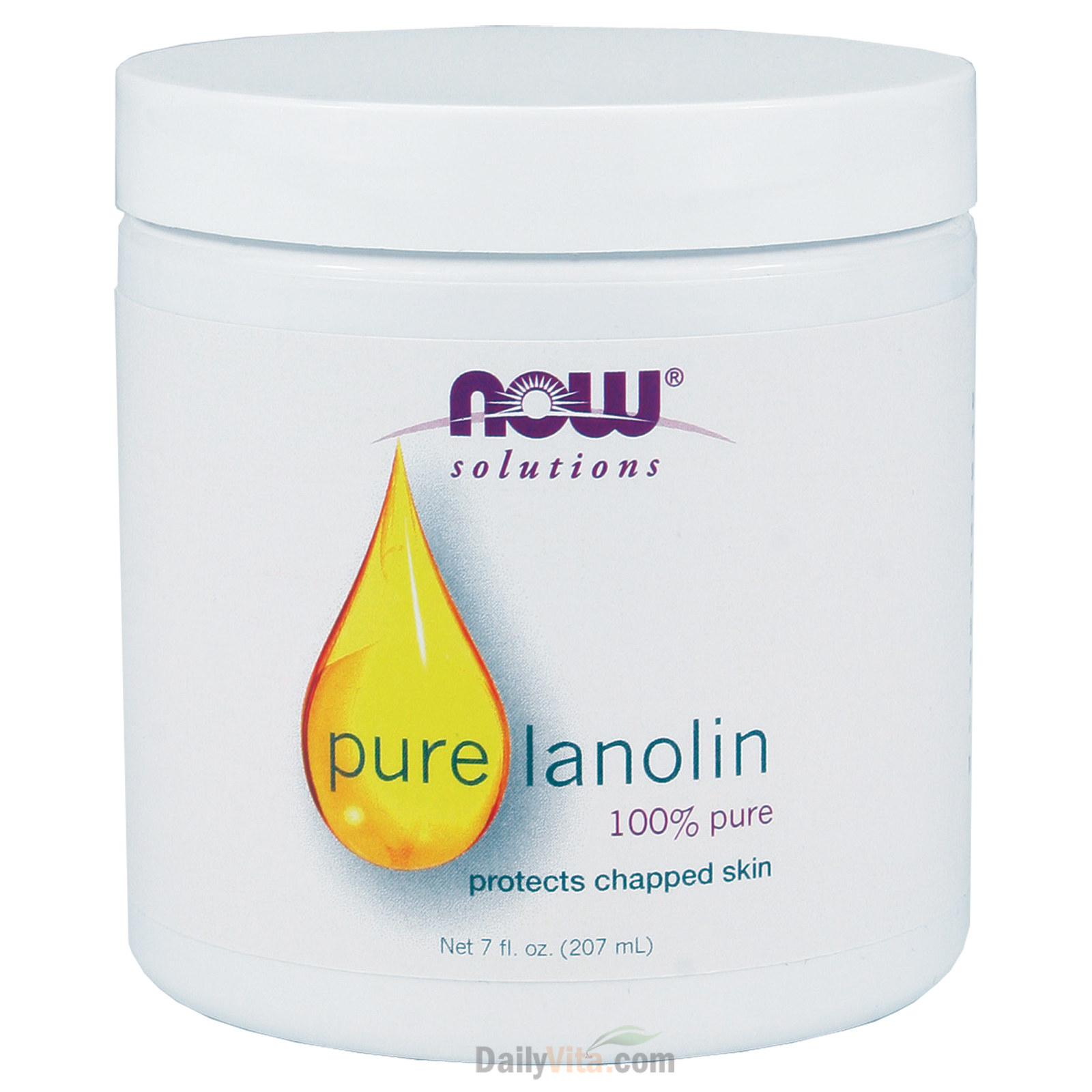 NOW® 100% Pure Lanolin - 7 oz.