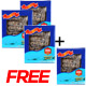 Buy 3 Get 1 Free: American Wild Caught Sea Cucumber Medium- 4 Oz
