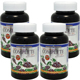 Buy 3 get 1 Free: WooHoo Natural Triple Strength Complete OPC-Q10 Antioxidant Formula 180 Capsules - 12 Month Supply