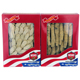 Value Pack: WOHO #132.2 American Ginseng Half Short Medium 2oz + #126.2 Ginseng Slice Medium 2oz Box