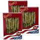 Value Bundle: 3 boxes of WOHO #132.2 American Ginseng Half Short Medium 2oz Box