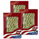 Special Bundle: 3 boxes WOHO #161.2 American Ginseng Medium Small Slice 2 oz Box