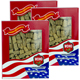 Special Bundle: 3 Boxes of WOHO American Ginseng #120.4 Premium Select Prong Extra Large 4 oz Box