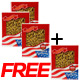 Buy 3 get 1 Free: WOHO American Ginseng #121.4 Prong Large 4oz. Box