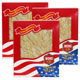 Special Bundle: 3 Boxes of WOHO #126.4 American Ginseng Slice Medium 4oz Box