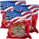 Special Bundle: 3 Bags WOHO American Ginseng Roots #105.8 Long Small 8 Oz bag