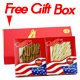 Premium Selected Gift Box Bundle: Ginseng Slice Medium 4 oz Box +  Half Short Small 4oz Box