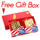 Premium Selected Gift Box Bundle: Ginseng Slice Large 4 oz Box + Long Extra Large 4 oz Box