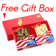 Premium Selected Gift Box Bundle: Ginseng Slice Large 4 oz Box + Ginseng Short Extra Large 4 oz Box