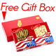 Premium Selected Gift Box Bundle: Ginseng Slice Large 4 oz Box + Ginseng Half Short Extra Large 4 oz Box