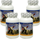 Special Bundle: 4 Bottles of Woohoo Natural DNA Lamb Placenta 100 Capsules