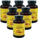 Special Bundel: 6 Bottles of Woohoo Natural Golden Squalene, 1000mg 100 softgels