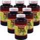 Special Bundel: 6 Bottles of Woohoo Natural Pure American Ginseng Capsules, 500mg 100 Capsules